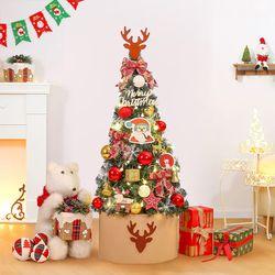 120cm 헬로 블링팝 완제 트리(전구포함) 크리스마스