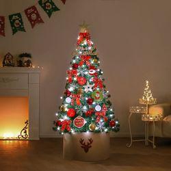 150cm 스노우맨 완제 트리(전구포함) 크리스마스트리