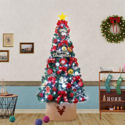 180cm 산타 글로리 완제 트리(전구포함) 크리스마스