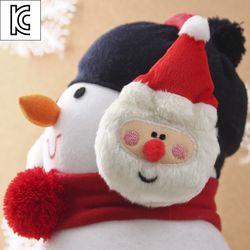 눈사람 산타 귀마개