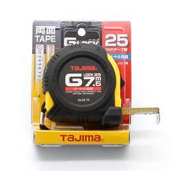 TAJIMA 줄자 GL25-75 7.5m-고무피복 스토퍼 타지마