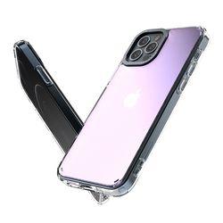 제로스킨 케이스앨로 하프미러 아이폰12 프로 범퍼 투명 케이스