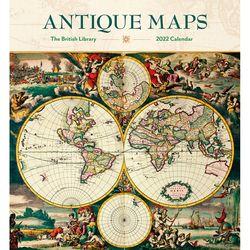 2022 캘린더 Antique Maps