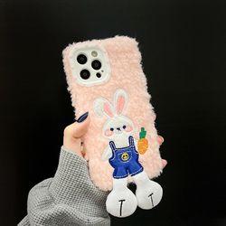 아이폰 13 12 11 pro max xs 왕발 토끼 뽀글이 케이스