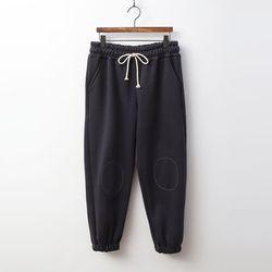 N Gimo Patch Easy Jogger Pants - 기모안감