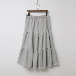 N Gimo Cancan Long Skirt - 기모안감