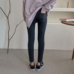 N Minky Leggings Pants - 융기모