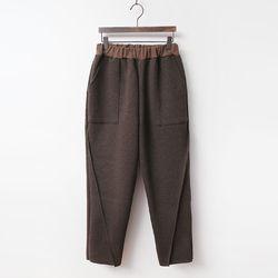 N Day Baggy Knit Pants - 기모안감