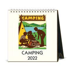 2022 데스크캘린더 Camping
