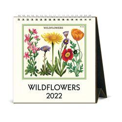 2022 데스크캘린더 Wildflowers