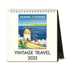 2022 데스크캘린더 Vintage Travel