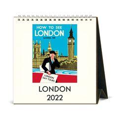 2022 데스크캘린더 London