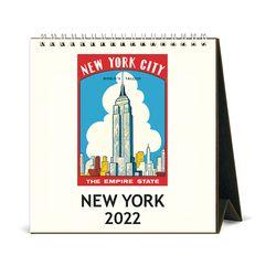 2022 데스크캘린더 New York