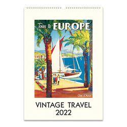 2022 카발리니캘린더 Vintage Travel