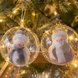 양모큐티눈사람벌룬볼 120mmR 크리스마스 TRBALC