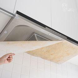 (2개입) 주방 가스렌지 후드커버 난연 46cm x45cm(12개입)