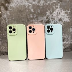 아이폰13 12 11 pro max xs 8 파스텔 컬러 젤리케이스