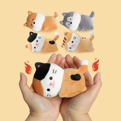 [모찌타운] 귀요미 강아지 고양이 핫팩인형 4종