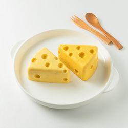 락토프리 순수한 치즈 케이크 강아지용 축하 케이크