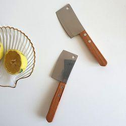 홈카페 미니도끼칼 레몬버터 치즈 나이프 명세빈칼