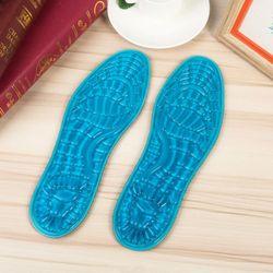 라이프공방 아쿠아젤깔창 평발 기능성 신발 깔창 실리콘 젤 쿠션