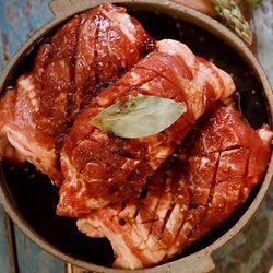1.8kg 대용량 더락 수제 돼지갈비 양념목살108