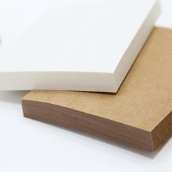 빈티지 재생지 스크랩북 사진 캘리 떡메모지 미니 노트 25P