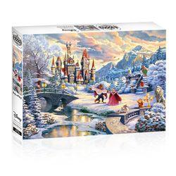 디즈니 킨테이드 미녀와 야수 - 겨울 마법 1000피스