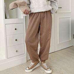 N Gimo Jogger Pants - 기모안감