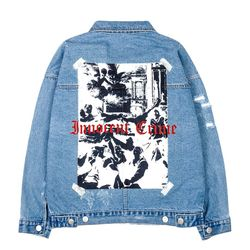 BLACKBLOND - BBD Innocent Denim Jacket (Blue)(ITEMT76IZW4)