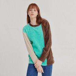 쿨컬러 배색 립 티셔츠 - 우먼(ITEMBIN9B1J)