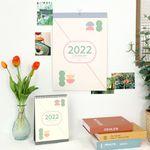 비팬시 2022년 비기넌 월+데스크 캘린더 (22년 달력)