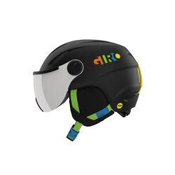 아동용 바이저 헬멧 BUZZ MIPS - MATTE BLACK PARTY BLOCKS
