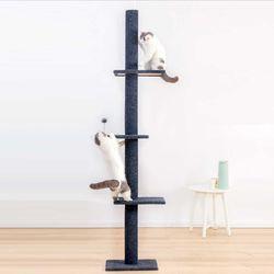 BMT02 폴캣타워 고양이용품 수직스크래처 캣폴