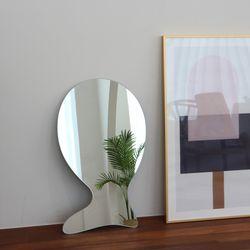 노프레임 비정형 거울 고래 S