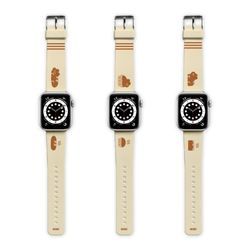 애플워치 SE 6 5 4 3 2 9C9C 빵인고양 스트랩
