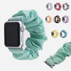 애플워치 7 6 5 SE 패션곱창 스트랩 밴드 시계줄 줄질