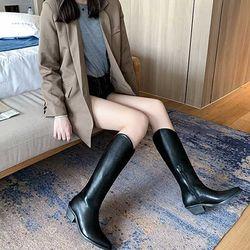 Woman invierno 롱부츠 굽높이4.8cm 2color CH1789414