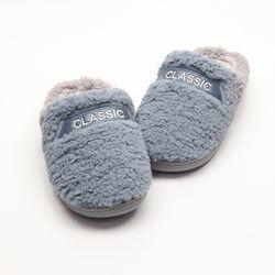 남자 겨울 발 따뜻한 베이직 귀여운 클래식 뮬 털슬리