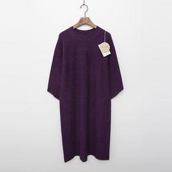 Whole Alpaca Wool Dress - 7부소매