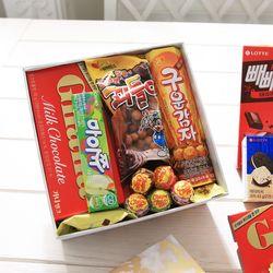비앙코카라라 정사각박스(중) 막대과자 데이 수능 초콜릿 선물