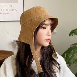 골덴 벙거지 겨울 캠핑 모자