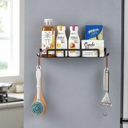 냉장고 자석 선반 마그네틱 철제수납 사이드랙