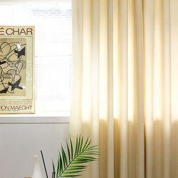 헤이골지 골덴 코듀로이 커튼 아일렛형 135x240cm 5color