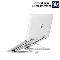 노벨뷰 쿨러몬스터 ALN9 알루미늄 노트북 태블릿 스탠드 6단조절