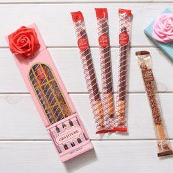 로맨틱(소) 롱빼 막대과자 데이 초콜릿 과자 선물