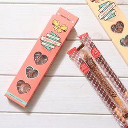 해피데이(소)2개 롱빼 막대과자데이 초콜릿 과자선물