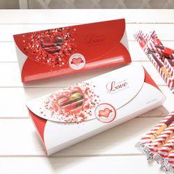 러브파우치 롱빼 막대과자 데이 초콜릿 과자 선물