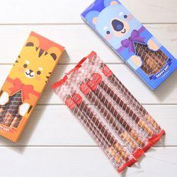 해피페페 롱빼 막대과자 데이 초콜릿 과자 선물