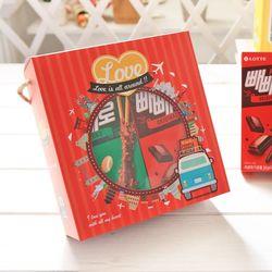 러브백 롱빼 막대과자 데이 초콜릿 과자 선물